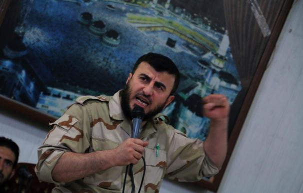 Zahran Alloush, head of the Jaish al-Islam (Islam