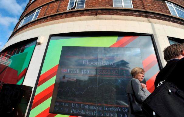 La Bolsa de Londres baja un 0,91 por ciento a media mañana