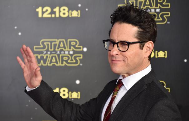Director J.J. Abrams poses during a promotional ev