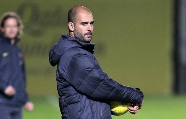 """Guardiola: """"Hasta ahora no estoy avergonzado de mi equipo"""""""