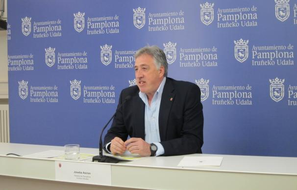 """Asiron dice que """"no puede ningunearse los avances"""" en Pamplona y pide a Aranzadi e I-E """"madurez y altura de miras"""""""