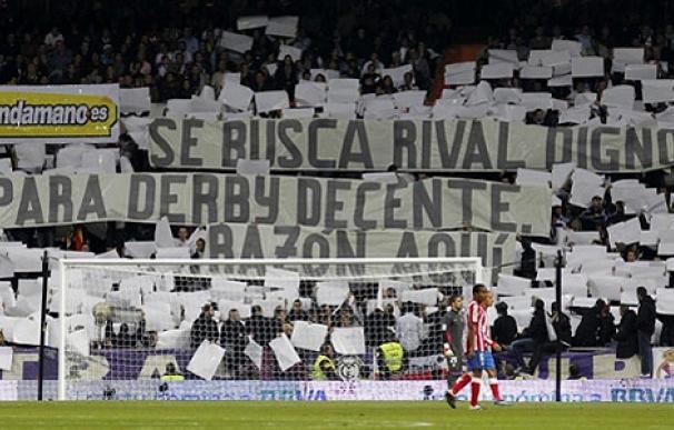 Mosaico que mostraron los Ultras Sur en el Real Madrid - Atlético