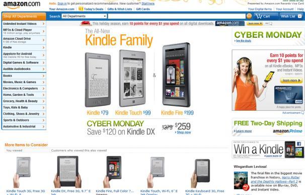'Ciberlunes': el día que Amazon domina el comercio mundial en internet