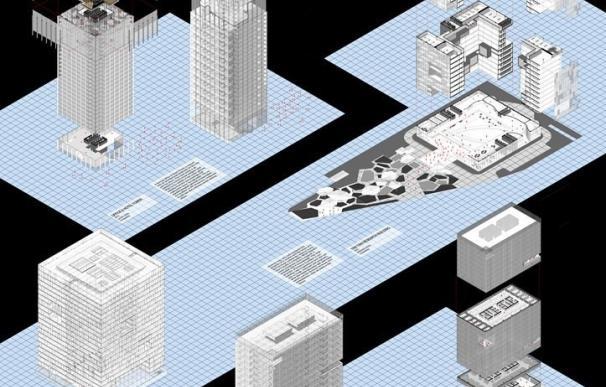 La exposición 'Imagination on exile' reúne una veintena de trabajos de exalumnos de la Escuela de Arquitectura