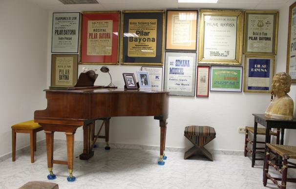 El legado de la pianista Pilar Bayona permanecerá en Aragón y se divulgará en el IAACC Pablo Serrano