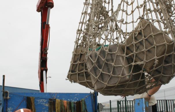 Interceptada una embarcación en el río Guadalquivir con más de dos toneladas y media de hachís