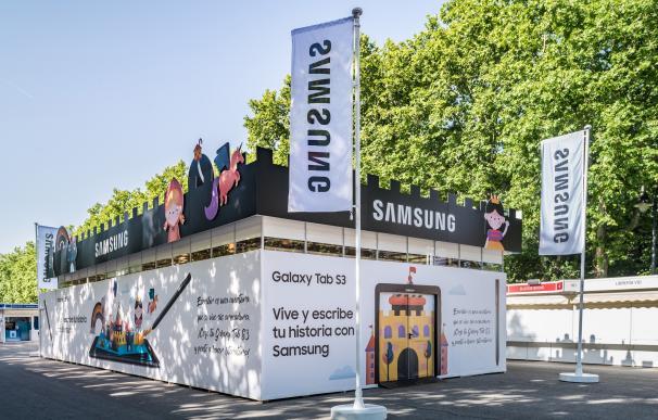 Samsung, colaborador tecnológico de la Feria del Libro de Madrid por quinto año consecutivo