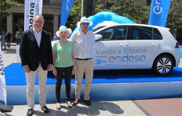 La tercera etapa de la I Vuelta a España en Vehículo Eléctrico llega a Zaragoza