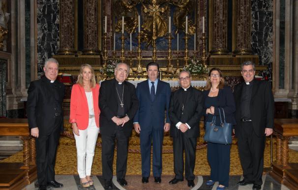 Fundación Endesa y el Vaticano firman un acuerdo para iluminar la Basílica de Santa María la Mayor en Roma