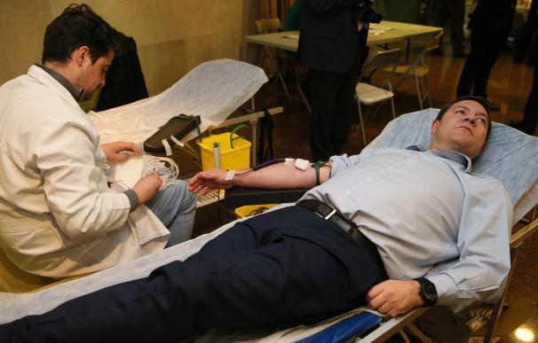 La Hermandad de Donantes de Sangre de Toledo espera que su maratón solidario alcance las 280 donaciones