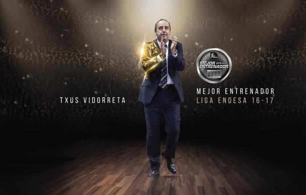 Txus Vidorreta, nombrado Mejor Entrenador de la liga regular