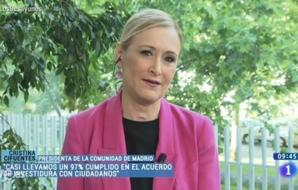 """Cifuentes no fue """"consciente"""" de que la espiaran y dice que si Gómez lo sabía tenía que haber ido al juez"""