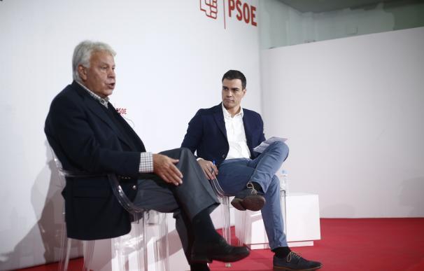 """Felipe González espera que Maduro dialogue con la oposición para resolver la """"gravísima crisis"""""""