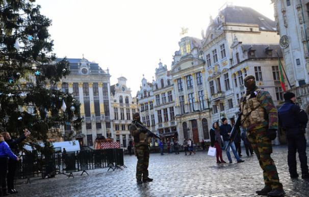 Bruselas se convierte en una ciudad fantasma