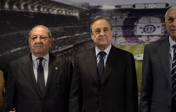 """Florentino: """"El Bernabéu aprendió a creer que no hay conquista imposible gracias a personas como Gento"""""""