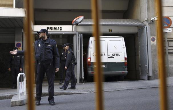 Granados y Marjaliza ingresan en la prisión madrileña de Soto del Real