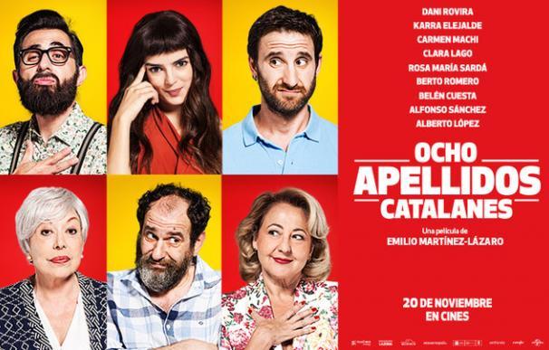 """Cartel de """"Ocho apellidos catalanes"""""""