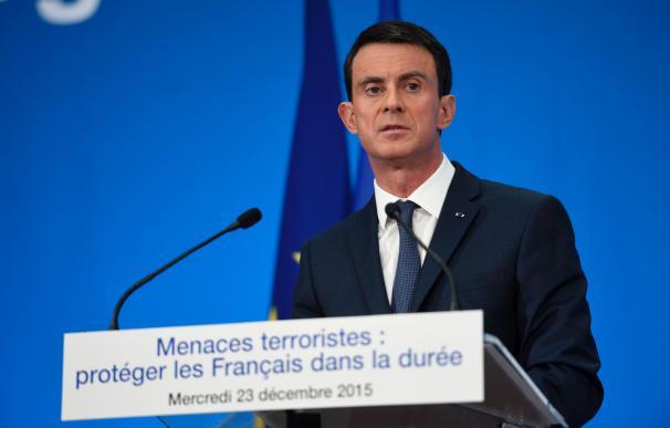 French Prime Minister Manuel Valls speaks during a