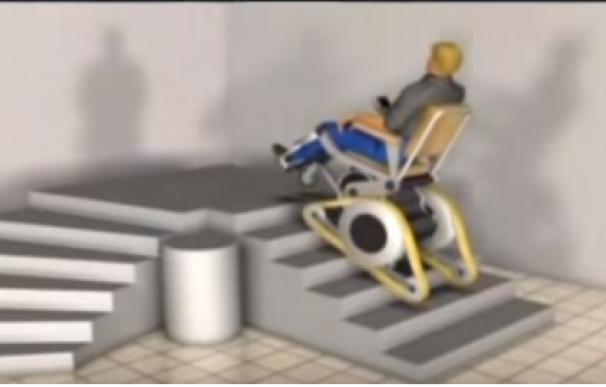Silla de ruedas, 'Galileo' (Youtube)