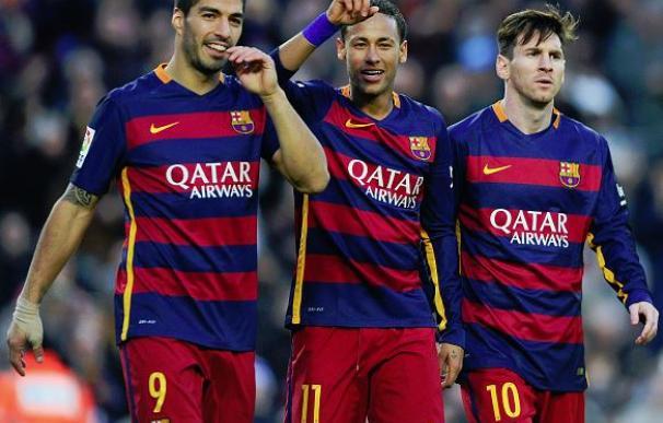 Messi, Neymar y Suárez ya tienen otro récord