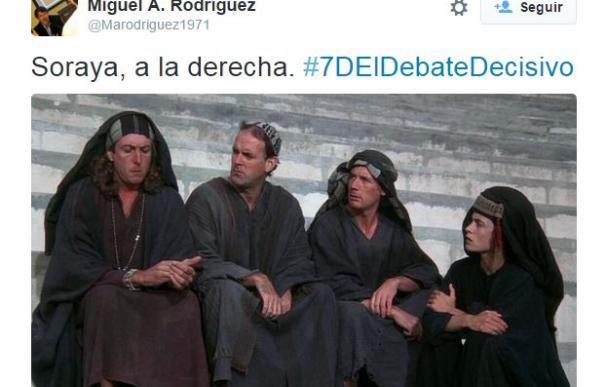 El debate a cuatro en Atresmedia ha sido la estrella de las redes sociales