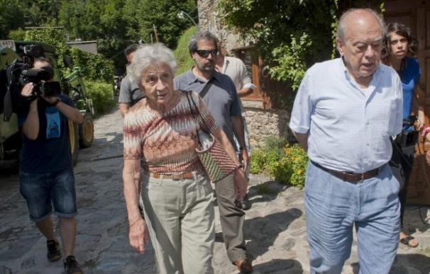 Marta Ferrusola y Jordi Puyol.