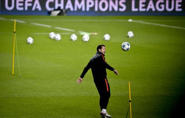 El Atlético de Madrid regresa al lugar donde perdió la final de Champions. / AFP