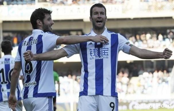 Agirretxe, el delantero con el mejor promedio del fútbol español.