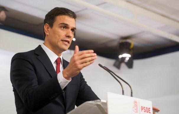 """20D.- Pedro Sánchez anuncia que el PSOE explorará """"todas las posibilidades"""" para que haya """"un Gobierno de cambio"""""""