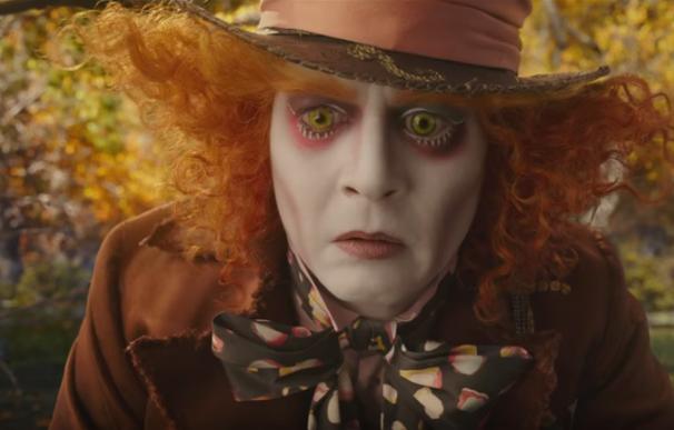 El sombrerero loco en 'Alicia a través del espejo'