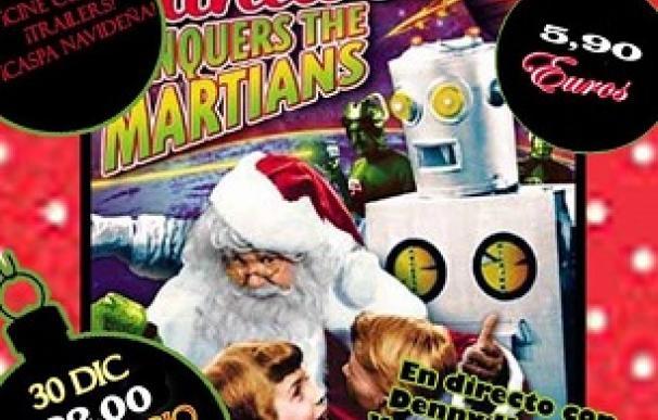 Portada de 'Santa Claus conquista a los marcianos' en el ciclo de cine cutre 'Trahs-O-Christmas'