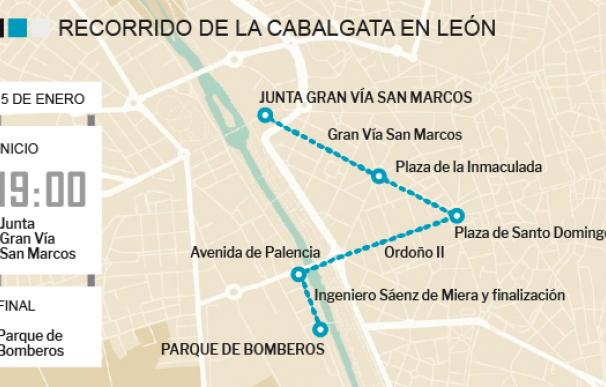 Recorrido Cabalgata de León 2018