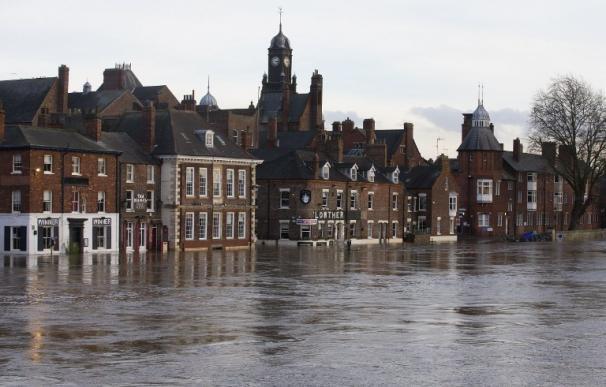 Las inundaciones en Reino Unido.