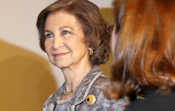 Doña Sofía, una apasionada del arte eclesiástico