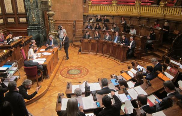 El pleno de Barcelona decide su simbología y podrá celebrarse fuera por causas de fuerza mayor