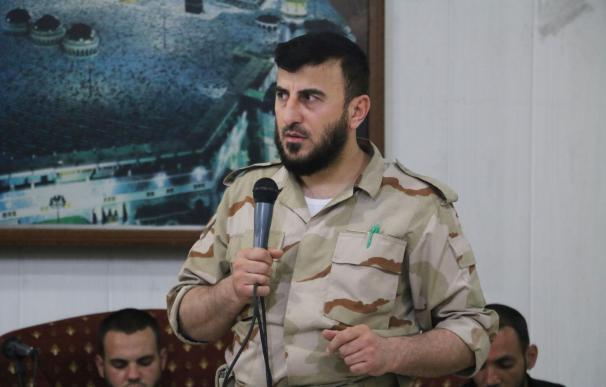 Zahran Alloush, head of the Jaish al-Islam (Islam
