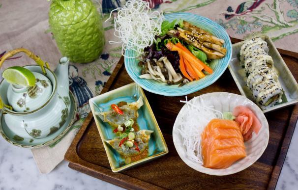 Tan solo 528 Kilocalorías en el nuevo 'Healthy Set Lunch' de Sushita Café