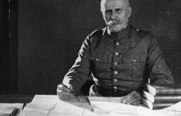 El mariscal Philippe Pétain.