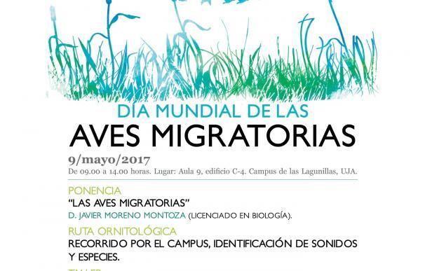 La UJA programa diversas actividades para conmemorar este martes el Día Mundial de las Aves Migratorias