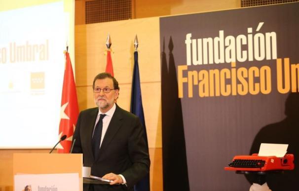 """Rajoy sobre la victoria de Macron en Francia: """"Los que creemos en la moderación y en Europa estamos muy contentos"""""""