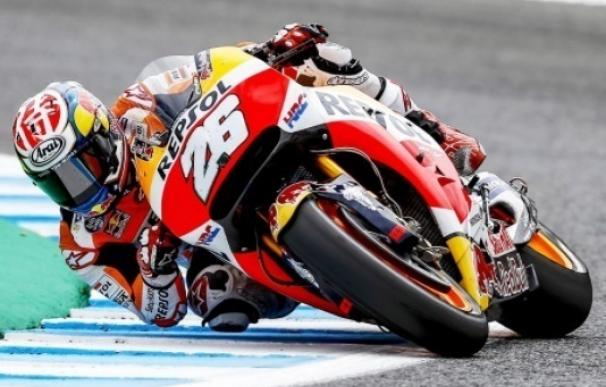 Pedrosa arrebata la pole a Márquez en la última vuelta en Jerez