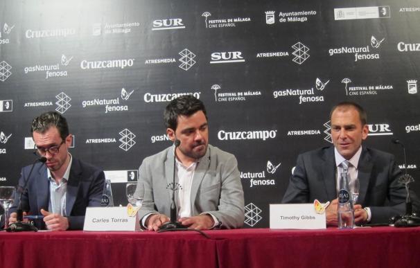 En el centro el director Carles Torras