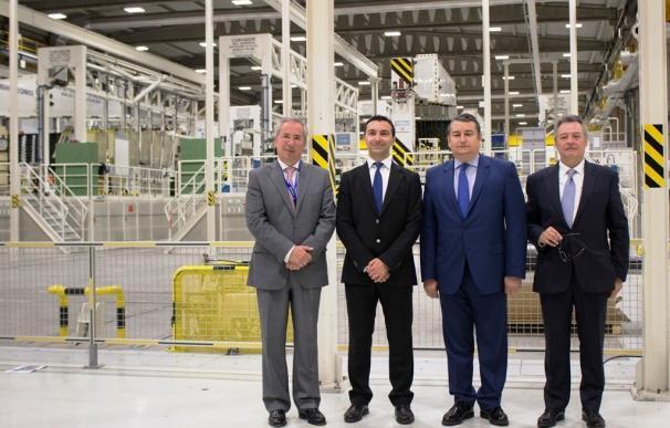 """Antonio Sanz destaca la aportación de Airbus """"a la innovación en Andalucía"""", con más de 3.500 empleos directos"""