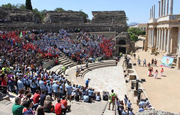 Más de 2.000 jóvenes scouts se citan en Mérida en su festival anual