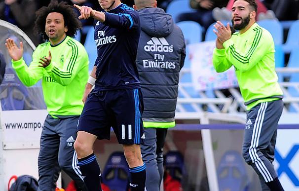 Bale tiene la Liga en la cabeza y mantiene al Real Madrid en la lucha