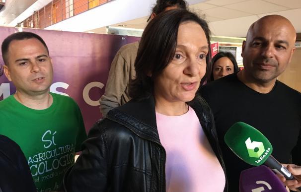 Bescansa recuerda que los votos de Podemos y UP superan al PSOE y erige a su formación como única alternativa al PP