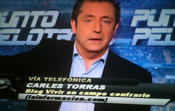 El periodista Carles Torras entró por teléfono en Punto Pelota para explicar lo de la central lechera