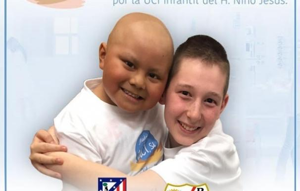 Jugadores de Atlético y Rayo apoyarán la nueva UCI Aladina del Hospital Niño Jesús