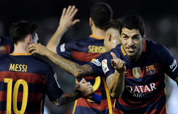 Suárez no falla a su cita con el gol