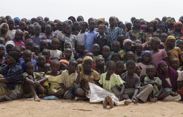 UNICEF cifra en más de 1,4 millones el número de niños obligados a huir por los ataques de Boko Haram